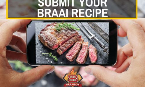 Submit your own braai recipe and win